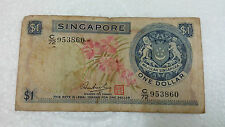 SINGAPORE  $1 Orchid Series HSS Seal  C/72 953860