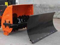 Schneeschild 80 x 40 cm für Schneefräse bis zu 74 cm passend 5-fach verstellbar