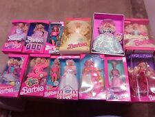 Barbie Lot Of 13 Dolls, NRFB, 1990s, All Pictured,  (JJ)