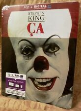 "Stephen King's IT (1990) ""Ça"" Blu-Ray France Exclusive Limited Edition STEELBOOK"