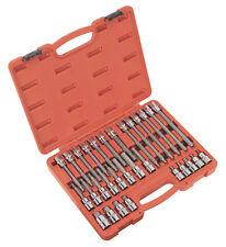 """Sealey AK2196 - Hex Socket Bit Set 30pc 1/2""""Sq Drive"""