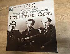 Coffret 3 LP Trios Cortot Thibaud Casals piano violon violoncelle Références *