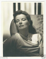 VERY RARE SULTRY RADIANT KATHERINE HEPBURN CLARENCE SINCLAIR BULL 10X13 PHOTO