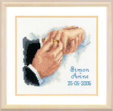 With This Ring - Wedding Record - Vervaco Counted Cross Stitch Kit - 2002/70.494
