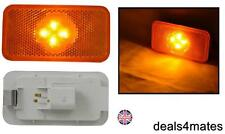 1X ORANGE AMBER 4 LED SIDE MARKER LIGHT LAMPS SPECIFIC FOR VOLVO FH/FM/FL SERIES