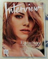 INTERVIEW Magazine EMMA STONE May 2015 ABBEY LEE Willie Nelson LILY TOMLIN Piano