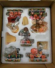 Vintage  Peanuts Pumpkin Patch Express Train   Danbury Mint NIB  Halloween