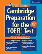 FAST SHIP - GEAR 4e Cambridge Preparation for the TOEFL Test Book with Onlin DX2