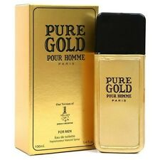 Pure Gold Cologne for Men 3.4 Fl. Oz Diamond Collection Impression of 1 Million