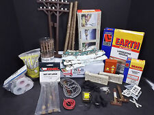 Bundle Lot of many Train Village accessories for HO Scale Trains New & Used....