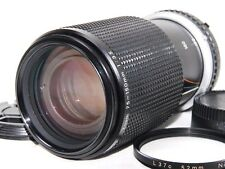 Nikon Series E Zoom 75-150mm f/3.5 Lens Ai-s w/Filter from JAPAN