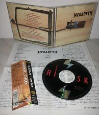 CD MEGADETH - RISK - JAPAN - TOCP-65272