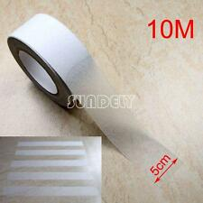 """2"""" Clear ANTI SLIP TAPE Grip Adhesive Backed Non Slip Safety Floor Steps Trailer"""