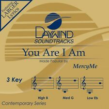 Mercy Me - You Are I Am - Accompaniment CD New