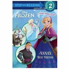 Step into Reading Ser.: Anna's Best Friends by Christy Webster (2014, Picture...