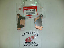 GENUINE HONDA BRAKE PAD SET REAR CBR1000RR CBR600RR