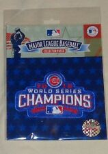 MLB Official Chicago Cubs 2016 World Series Champions Jersey Patch FREESHIP