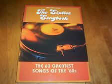 THE SIXTIES SONGBOOK 60 Greatest Songs Piano Vocal Guitar 60's Music Song Book