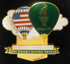 "Atlanta 1996 Olympic Pin - Opening Ceremonies ""Aeronaut"" Airscape"