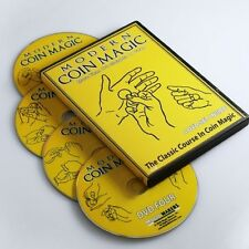 Modern Coin Magic With Ben Salinas - 4 DVD Set - Learn Over 170 Sleights/Tricks!