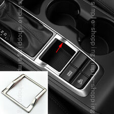 Stainless Handbrake Water Cup Side Cover Frame Trim For Hyundai Tucson 2016-2017