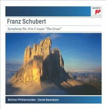 Franz Schubert: Symphony No. 9 in C Major, 'The Great' CD NEW