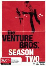 Venture Bros. : Season 2 (DVD, 2008, 2-Disc Set) REGION 4 - New & FREE POSTAGE