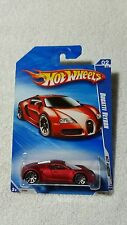 2010 HOT WHEELS HOT AUCTION BUGATTI VEYRON - SATIN RED