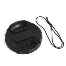 49mm Camera Snap-on Front Lens Cap Cover For Canon Nikon Fuji Sony with String
