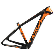 "SAVA T800 UD Carbon Mountain Bike Frame 29""/27.5""/26"" MTB Bicycle Frame 15/17"""