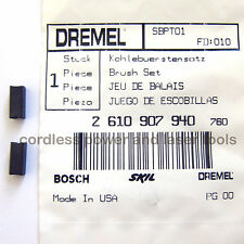 Dremel Genuine Original Carbon Brushes 398 & 400 Rotary Drill Part 2 610 907 940