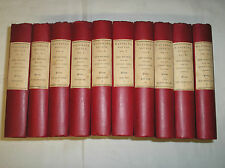 The Waverley Novels by Walter Scott 10 Volumes (Vols 2-11) Constable 1885-1886
