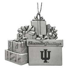 Indiana University - Pewter Gift Package Ornament