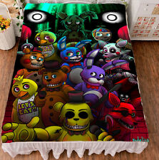 Game Five Nights at Freddy's  Milk Wire GOOD Bed Sheet Birthday Gift 59*79'' #32