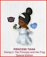 2010 Hallmark Precious Moments PRINCESS TIANA Porcelain Ornament Disney Frog
