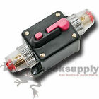 CAR STEREO AUDIO 12V CIRCUIT BREAKER FUSE INLINE FITS 4 8 GAUGE WIRE 250 AMP