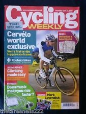 CYCLING WEEKLY - CERVELO FRAME - APRIL 26 2007