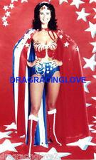 """Gorgeous Actress Lynda """"Wonder Woman"""" Carter SEXY """"Pin-Up"""" PHOTO! #(28)"""