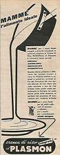 W8850 Crema di riso al PLASMON - Pubblicità del 1958 - Vintage advertising