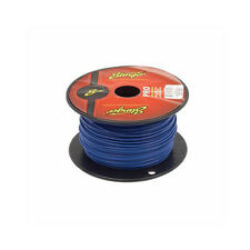 50 Foot Cut of Stinger Pro Series 18 Gauge Blue Remote Turn On Primary Wire
