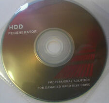 Hard Drive Regenerate Tool refreshes & revives bad sectors back to new Boot Disc