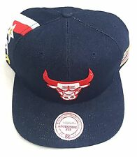 MITCHELL AND NESS CHICAGO BULLS TEAM USA OLYMPIC SNAPBACK HAT CAP OSFA
