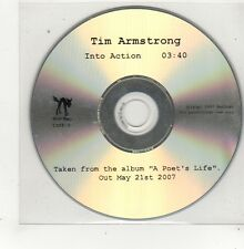 (FQ904) Tim Armstrong, Into Action - 2007 DJ CD