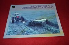 John Deere Hay Cutting & Windrowing Equipment For 1985 Dealer's Brochure YABE7