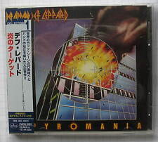 Def Leppard - Pyromania  JAPAN CD OBI PHCW-2001