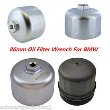 Aluminum Oil Filter Wrench for 86mm Cartridge Style Filter Housing Caps for BMW