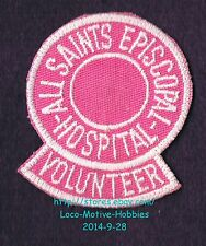 LMH PATCH Badge ALL SAINTS EPISCOPAL HOSPITAL Medical Center VOLUNTEER Womens TX