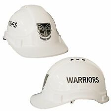 NZ New Zealand Warriors NRL Light Weight Vented Safety Hard Hat Work Man Cave
