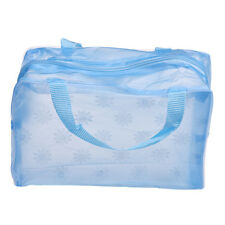 Blue Makeup Bag Cosmetic Toiletry Travel Wash Toothbrush Pouch Organizer Bag HOT