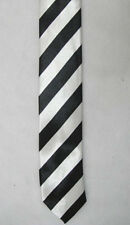 NEW MENS TIES SLIM SOLID COLOR PLAIN STRIPES SATIN PARTY WEDDING TIE NECKTIE B4